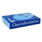 Papier A4 couleur bleu turquoise 80 g Clairefontaine Trophée couleurs vives - Ramette de 500 feuilles