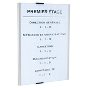 Plaque murale 30,5 x 21,5 cm Info Sign Durable