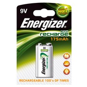 Pile rechargeable AAAA - HR22 Energizer - Blister de 1 accu 9 volts