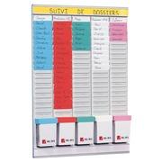 Planungstafel mit Einsteckkarten - Wochenplaner