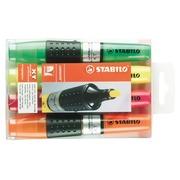 Surligneur Stabilo Luminator couleurs assorties - Pochette de 4
