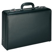 Attaché-case PVC noir