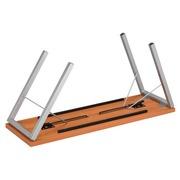 Tables de séminaire Confort pliante chêne 150 x 50 cm