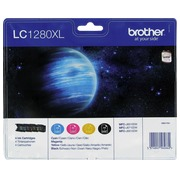 Pack cartridges Brother LC1280 XL black + colors