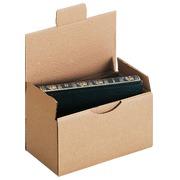 Mail box, brown 20 x 10 x 10 cm