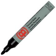 Permanenter Markierstift JMB mit Plastikumhüllung - Schwarz