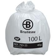 Weiße Müllsäcke NF Bruneau, 100 l