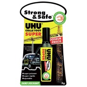 Strong and Safe glue precise doses 3 g