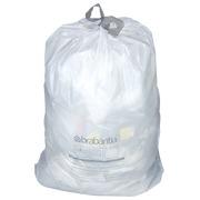 Pak 20 witte vuilniszakjes 3 liter Brabantia