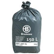 Sac poubelle 150 litres qualité supérieure Bruneau - 200 sacs