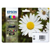 Pack van 4 cartridges Epson 18XL