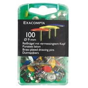 Drawing pins 9 mm with an extra fine point - assortment