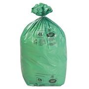 Umweltfreundliche Müllsäcke 110 L - 200er-Packung - grün