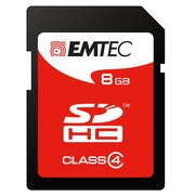 Carte mémoire SD Emtec 8 Go - Classe 4