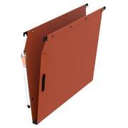 Dossier suspendu pour armoires 33 cm kraft Easy Velcro Ultimate Elba fond 15 mm orange