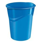 Papierkorb plastik Cep Gloss blau 14 L