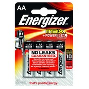 Blister 4 piles LR06 Energizer Max