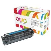 Toner Armor Owa compatible HP 304A-CC531A cyan pour imprimante laser