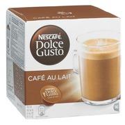Capsules de café Nescafé Dolce Gusto Café au lait - Boîte de 16