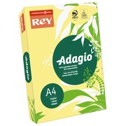Paper A4 colour pastel yellow 80 g Rey Adagio - Ream of 500 sheets