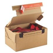 Postkiste Karton Modell senden und zurückgeben 28,2 x 19,1 x 14 cm