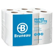 Toilet paper 3 layers Large Comfort Bruneau - Box of 12 rolls with 150 sheets