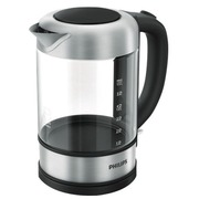 Philips Viva Collection HD9342 - kettle - stainless steel/black
