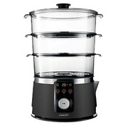 Philips Avance Collection HD9170 - steamer - stainless steel/black