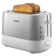 Philips Viva Collection HD2637 - Toaster - weiß