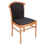 Houten stoel, tint kerselaar
