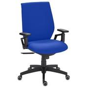 Bureaustoel Urban - synchroon - blauw