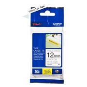 Brother TZeS231 - gelamineerde tape - 1 rol(len) - rol (1,2 cm x 7,99 m)