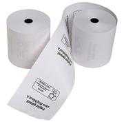 Thermal paper rolls vo cash register 1 layer without Bisphenol A - Pack of 10