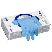 Einweg-Schutzhandschuhe Mapa Latex Solo 967 blau - Schachtel von 100 - Größe 6