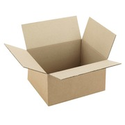 American box brown kraft double groove L 20 x W 15 x H 12 cm