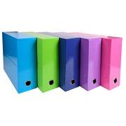 Klassifizierungsbox Exacompta Iderama Rücken 9 cm Sortiment von Farben