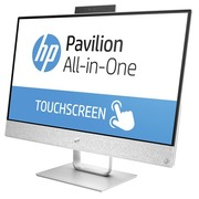 HP Pavilion 24-r001nb - alles-in-één - Core i5 7400T 2.4 GHz - 12 GB - 2.128 TB - LED 23.8