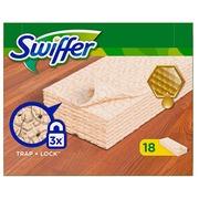 Lingettes sèches dépoussiérantes Swiffer spécifiques bois et parquet
