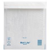 Verzendomslag met luchtkussentjes wit 220 x 260 mm MailLite 92 g-doos van 100