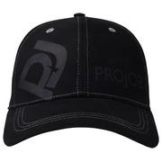 9062 LOGO FLEX CAP Zwart