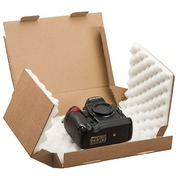 Shipping box with foam stuffing 12,5 x 10 x 5 cm