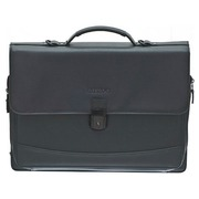 Business briefcase with 3 bellows