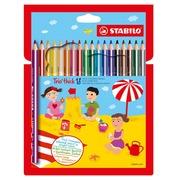 Stabilo kleurpotlood Trio 18 potloden