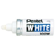 Pentel Paint Marker White schrijfpunt: 6,5 mm, schrijfbreedte: 4 mm