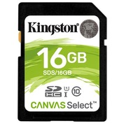 Kingston Canvas Select - Flash-Speicherkarte - 16 GB - SDHC UHS-I