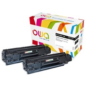 Pack 2 toners noirs Armor Owa compatibles HP 78A - CE278AD