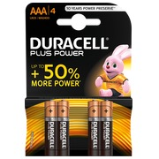 Duracell Plus Power Alkalinebatterien AAA