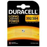 Blister 1 batterij zilveroxide SR41 392