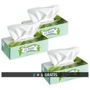Pack 20 dozen zakdoeken met Aloë Vera Le Trèfle + 10 gratis