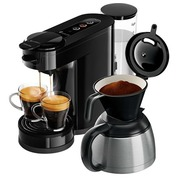 Philips Senseo Switch HD6592 - coffee machine - 1 bar - deep black